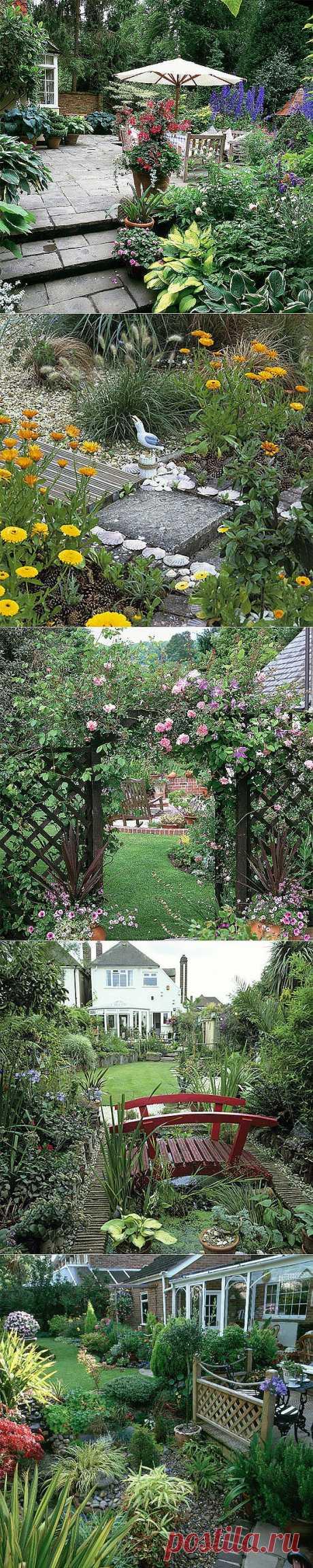 50 способов сделать сад красивым и необычным.