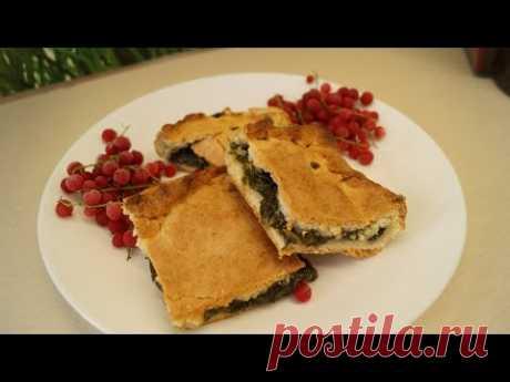 Много рецептов пирога со щавелем