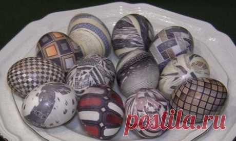 Как покрасить яйца на пасху своими руками: 8 интересных идей