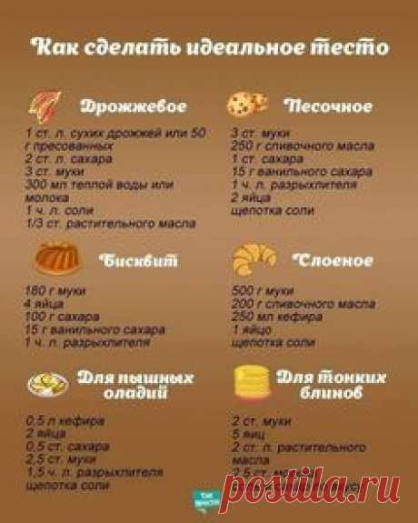 Как сделать идеальное тесто | Golbis