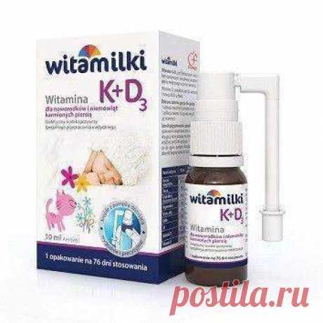 WITAMILKI VITAMIN K + D3 spray 10ml