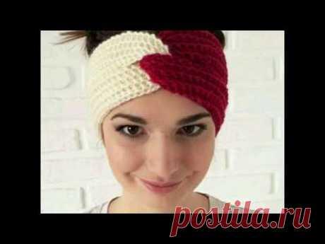 Turbante Diadema Vincha Tejida ganchillo crochet