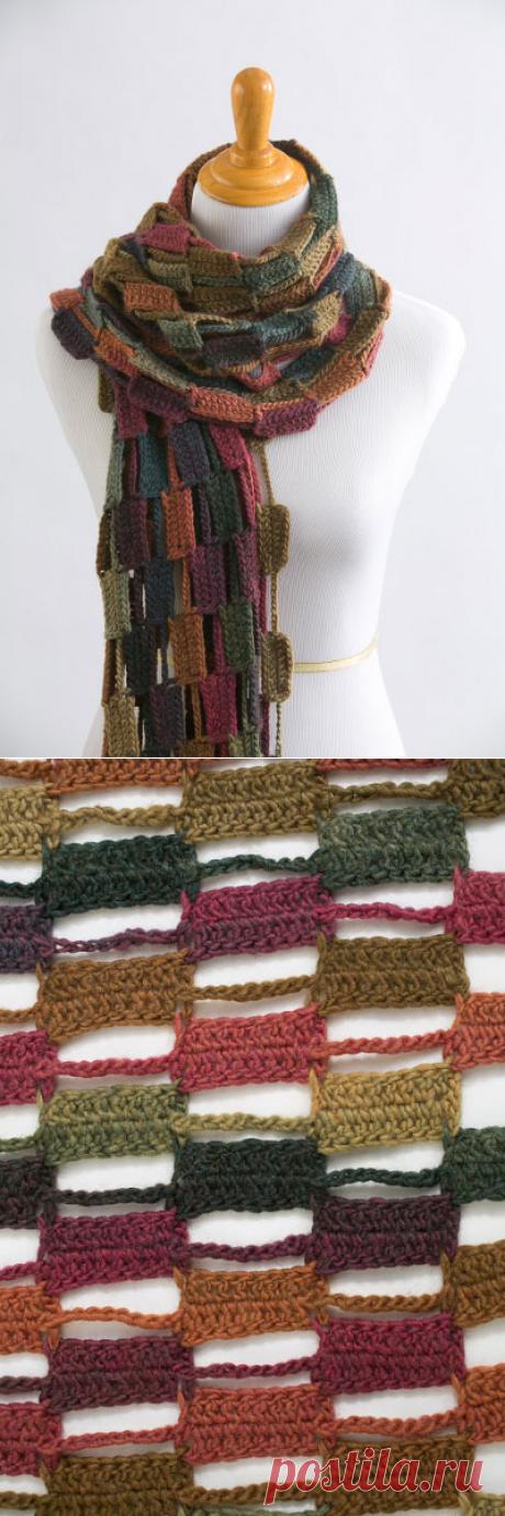 La bufanda original por el gancho