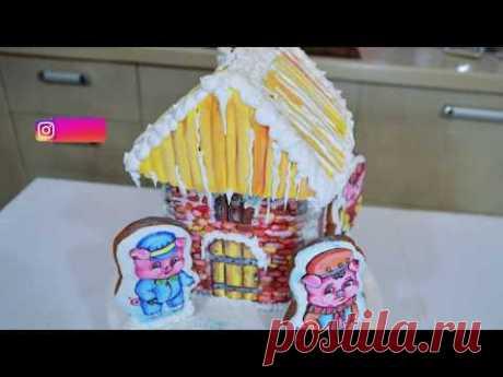 Айсинг №2: глазурь для росписи пряничного домика. Мастер-класс по айсингу