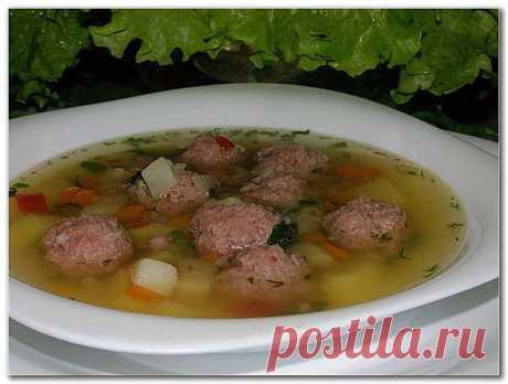 Суп мясной по-русски