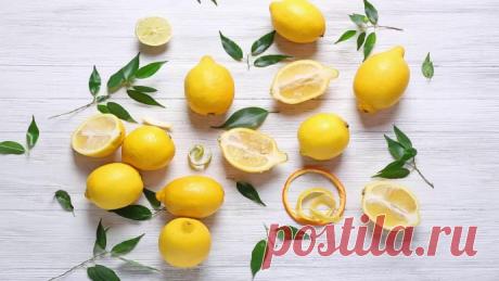 Неожиданное использование лимонов в быту