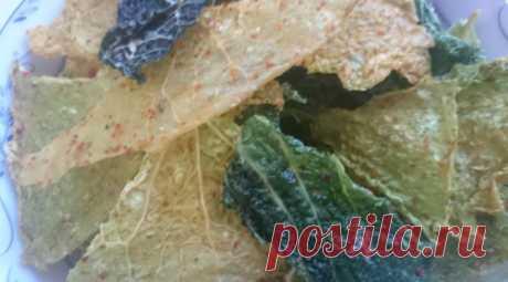 Сыроедные чипсы из савойской капусты | Блог Жанны Никельс | Еда - как лекарство