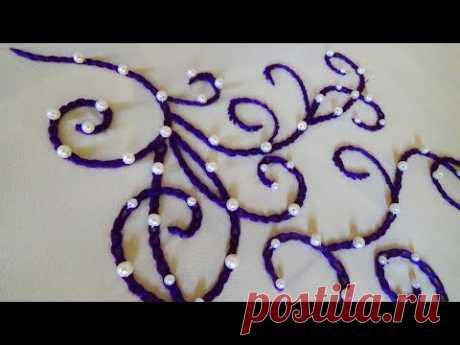 Hand Embroidery: Chain Stitch