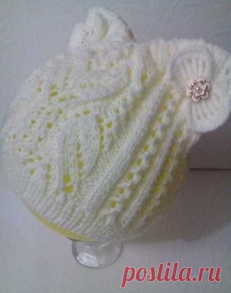 Вяжем чудесную шапочку для принцессы