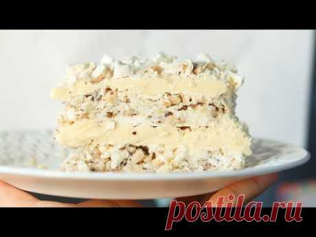 ВЕЛИКОЛЕПНАЯ СОВЕТСКАЯ КЛАССИКА❤ ТОРТ-БЕЗЕ ПОЛЕТ❤ БЕЗ МУКИ ❤Meringue cake recipe