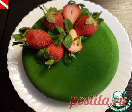 "Торт ""Зеленый бархат"" - кулинарный рецепт"
