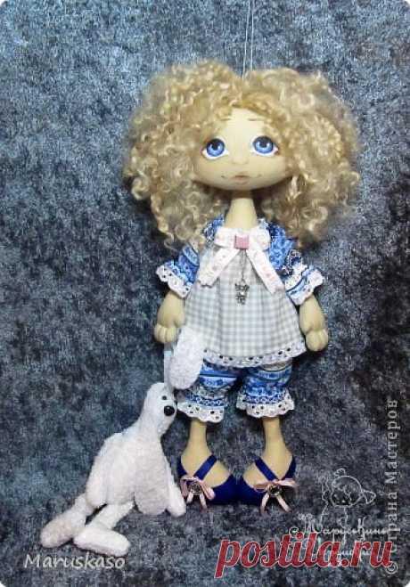 """Мастер-класс """"Принцесса на горошине"""" или как я делаю своих куколок.   Страна Мастеров"""