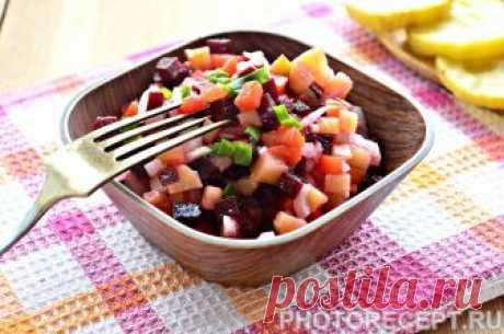 Салат из свеклы - рецепт для поддержания фигуры