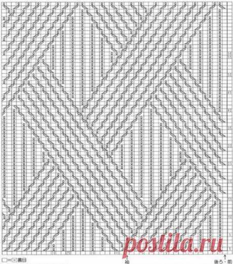 Стильный мужской свитер из категории Интересные идеи – Вязаные идеи, идеи для вязания