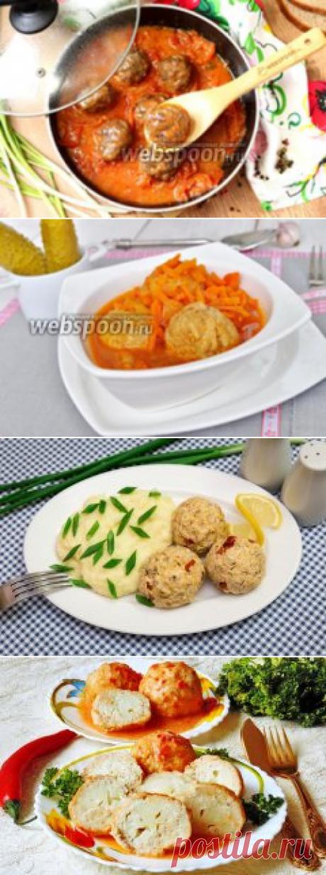 Тефтели   Рецепт тефтелей с рисом и подливой в томатном соусе   Как приготовить тефтели пошагофо с фото на Webspoon.ru