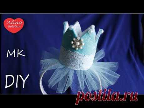 "New Year's Corona "" Snowflake "" Hand Made\/Christmas Snowflake Crown"