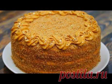 """Торт """"Карамельная ночь"""" Потрясающий торт на любой праздник"""