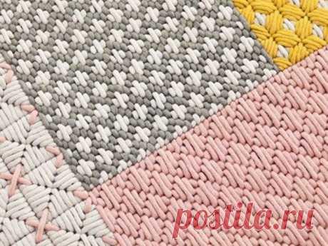 25 схем для вышивки в технике барджелло (флорентийская вышивка)   Рукоделие