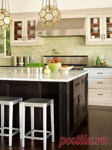 Красивые идеи оформления кухонного фартука
