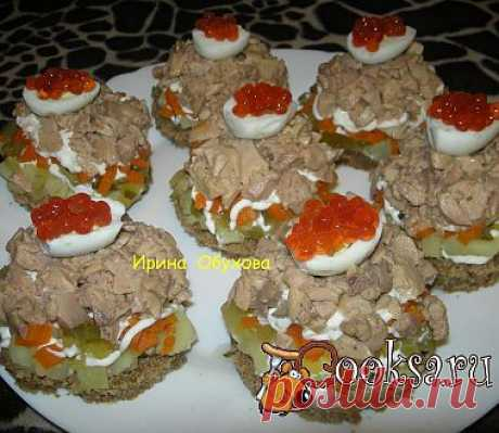 Салатик с печенью трески рецепт с фото