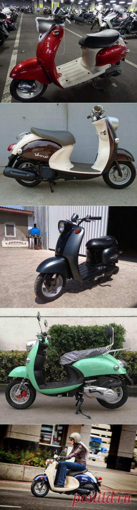 Скутер Yamaha Vino: характеристики и инструкция по эксплуатации. Отзывы