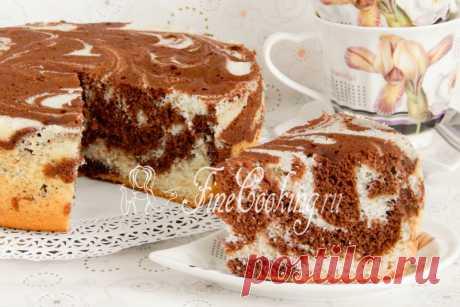 Мраморный бисквит в мультиварке Мои запасы рецептов вкусной домашней выпечки не заканчиваются – сегодня хочу предложить вам вкусный, красивый, воздушный и ароматный мраморный бисквит в мультиварке.
