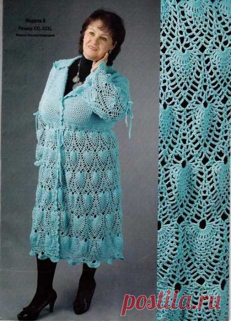 Вязание. Модели для солидных дам!