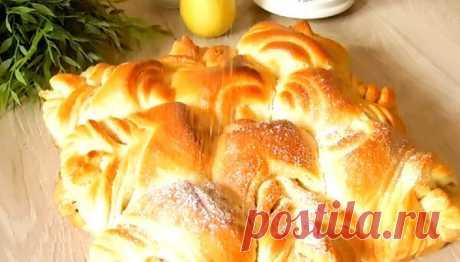 Огромная булка - пирог, или воздушная выпечка, которая покорит своей красотой! | Вкусная история | Яндекс Дзен