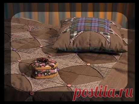 Шьем одеяло и подушку в стиле кантри. Мастер класс. Татьяна Лазарева
