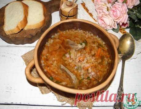"""Суп мясной """"Загадка"""" – кулинарный рецепт"""