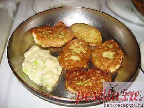 Рецепт оладьев из кабачков с яблоками
