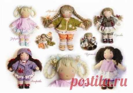 Вальдорфовская кукла подробнейший МК. Мне очень нравятся Вальдорфские куклы. А вы не хотите сшить такую куколку? Посмотрите подробный Мастер -класс подготовленный Алёной Василь. Вальдорфская кукла - что это? Вальдорфские куклы основаны на традиционных текстильных народных куклах, называются так потому, что именно в таких кукол играют дети, чьи родители придерживаются в воспитании вальдорфской педагогики. В вальдорфских детских садах используются игрушки …