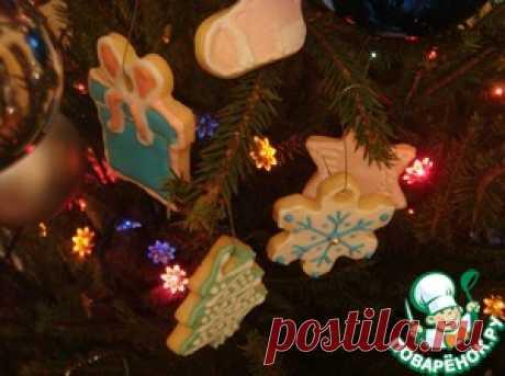 Рождественское масляное печенье