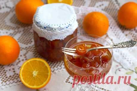 Варенье из апельсиновых корок даже не у профессионалов получается очень красивым и ароматным!