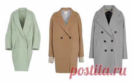 Пальто-кокон — отличный фасон. Попробуем составить образы?