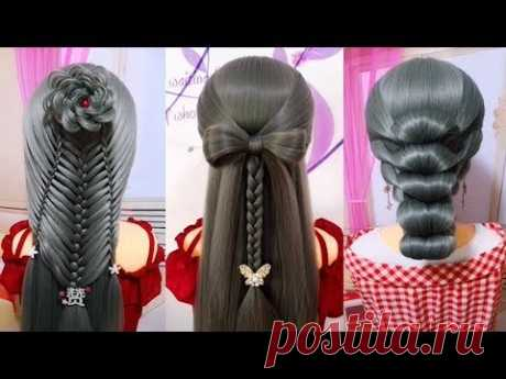 Easy Hair Style for Long Hair | TOP 25 Amazing Hairstyles Tutorials Compilation 2018 | Part 126