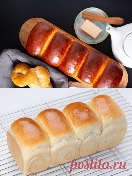 Рецепт японского хлеба хоккайдо | Еда от ШефМаркет | Яндекс Дзен