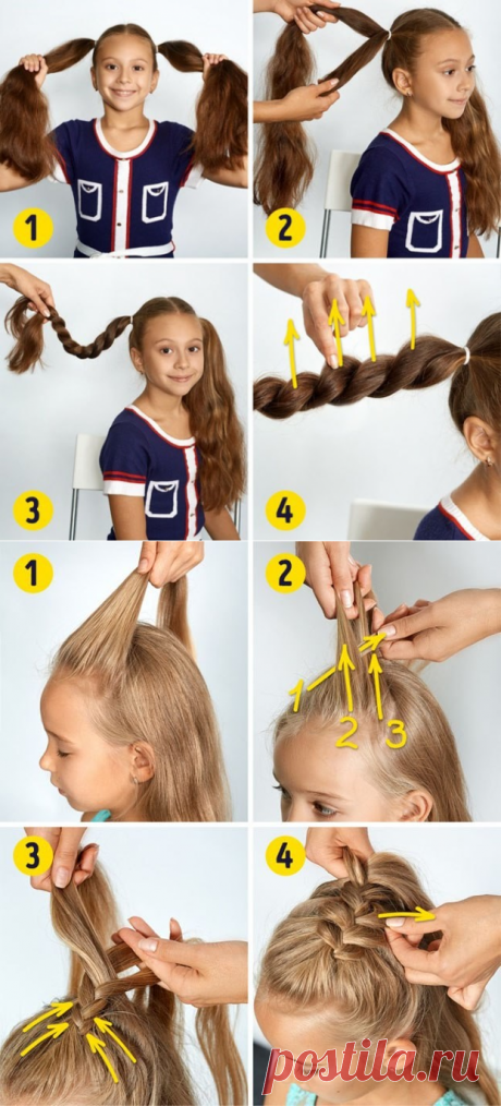 Hairdresses for girls