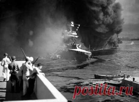 Нападение Японии на базу США Перл-Харбор | История
