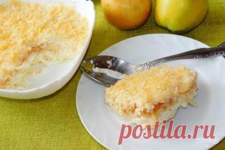 Французский салат с яблоком и маринованным луком - пошаговый рецепт с фото на Повар.ру