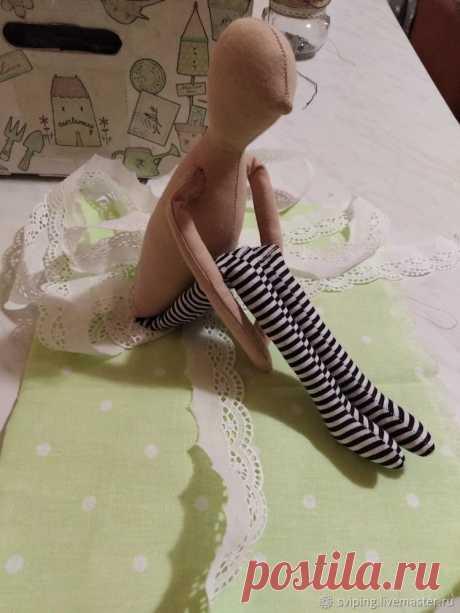 Шьем тильду в пышном платье. Часть 1 – мастер-класс для начинающих и профессионалов