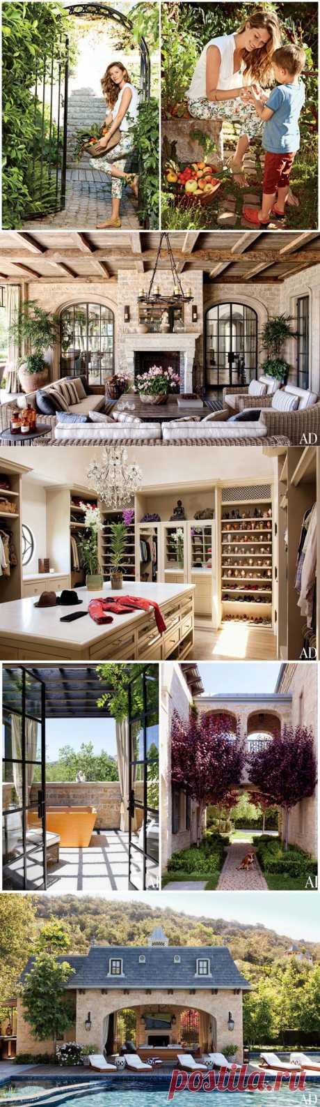 Красивый дом Жизель Бюндхен (фото) | Фотографии красивых интерьеров