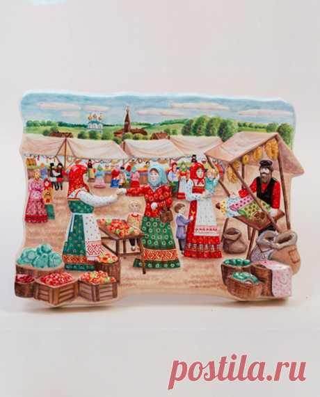 Vintage Majolica Relief Ceramic Wall Panel Handmaid Ceramic | Etsy