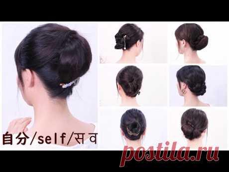 [9選 自分で出来る 髪型]普段使いだけでなく、成人式・結婚式・お出かけ・和装前撮り等/Chie's Hair Arrange 9 Easy Ways to Self-Cignon Hairstyle/Chie's Hair Arrange9選/普段使いだけでなく、成人式・結婚式・お出かけ・和装前撮り等。髪のノウハウについての記事はこちらからhttps://chieshairarrange.net/?cat=149アイテム、アクセサリ、ヘ...