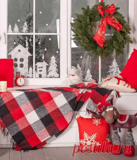 Как украсить дом к Новому году, 20 фото идей как можно оригинально украсить дом своими руками
