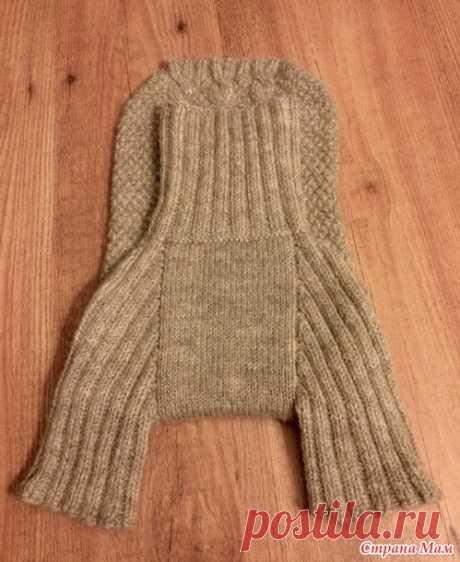 Тёплый свитер для любимицы - Вязание - Страна Мам