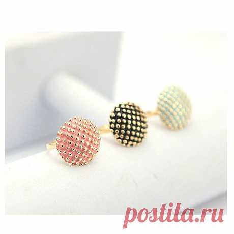 Корейской моды и прекрасной картины Dot Стиль оформлен палец кольцо (ASSIGN случайный цвет) | Sammydress.com, 58 рублей