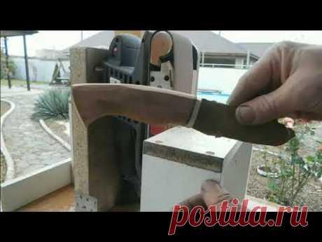 Нож из мехпилы р6м5