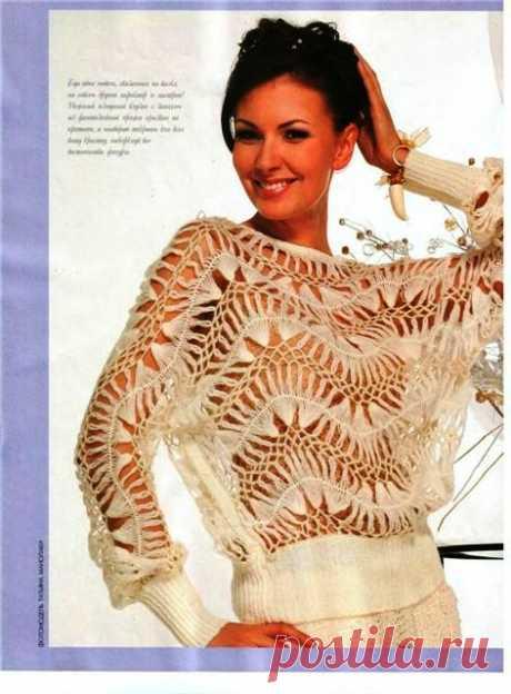 Пуловер - САМОБРАНОЧКА рукодельницам, мастерицам