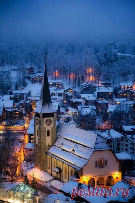 Zermatt, Switzerland (by Gregory Cohen)